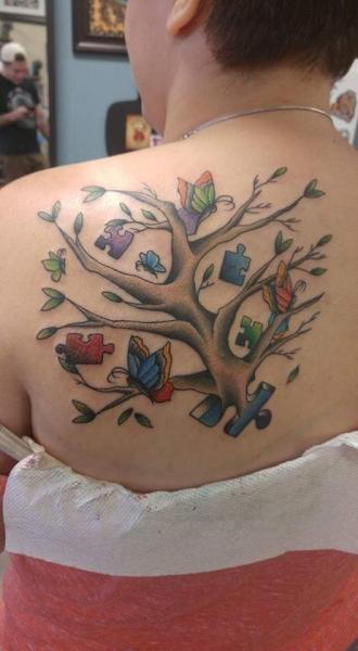 Alexis Autism Tattoo